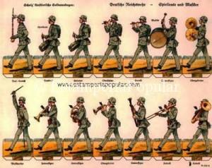 IMAGEN 10.- Banda de música infantería nº 30