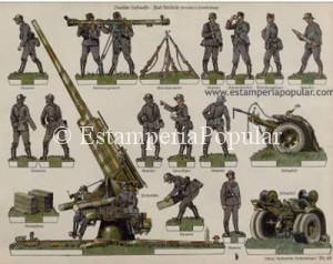 IMAGEN 11.- Artillería alemana antiaérea con el 80 mm Flak-18, nº 48