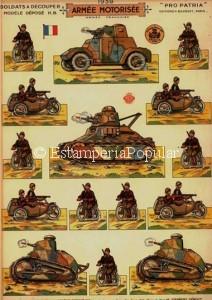 Imagen 18 bis correspondiente al segundo de estos dos nuevos pliegos de H. Bouquet con el nº de plancha 40