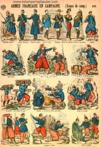 """Imagen 27.- Pliego con la indicación """"Fournisseurs Brevetés de S. M. L'Impératrice"""" editado entre 1866 y 1870 pero posible e inicialmente grabado mucho antes (Col R de Francisco)"""