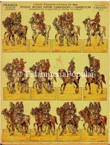 Imagen 26 con la plancha nº 2 de la serie de 8 pliegos de Bouquet dedicada a glosar personajes del Primer Imperio durante la ocupación