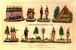 Imagen 9.- Plancha en talla dulce de Basset hacia finales del XVIII (Ref: Col de R de Francisco)