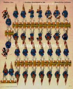 Imag 19.- Pliego nº 11 de la serie en tamaño de 38,2 x 30 cm (Col R de Francisco)