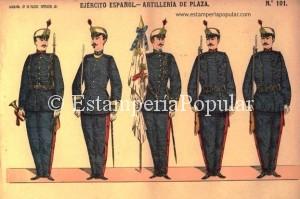Pliego de Paluzie en el que el modelo de machete/bayoneta podría indicarnos en principio, una fecha de impresión posterior a 1893