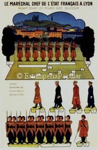 Imagen 37, en el que se representa  una formación de la llamada Garde du Maréchal