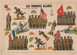 Imagen 75, representando a tropas de los Ejércitos Aliados más representativos de ediciones NISSE