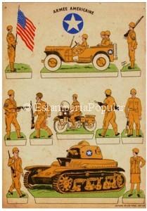 Imagen 76.- Plancha de la editorial parisina Willeb hacia 1945