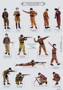 Imagen 87, como continuación de la 86 con reclutas de las tropas francesas organizadas por De Gaulle en Inglaterra a partir de 1940.