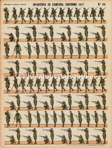 Imagen 15, con uno de los nuevos pliegos editados por Elzeviriana con la uniformidad                                De 1927 (Col R. de Francisco)